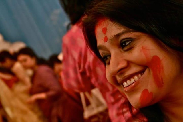 FCB Ulka chief creative officer Swati Bhattacharya celebrating Sindoor Khela